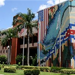 Exterior of the Hialeah City Hall