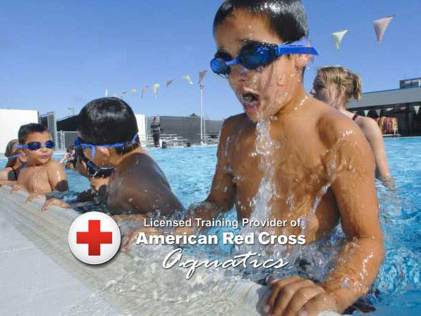 American Red Cross Aquatics certification