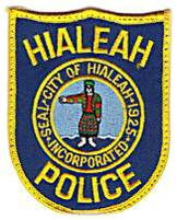Hialeah Police Department Patch