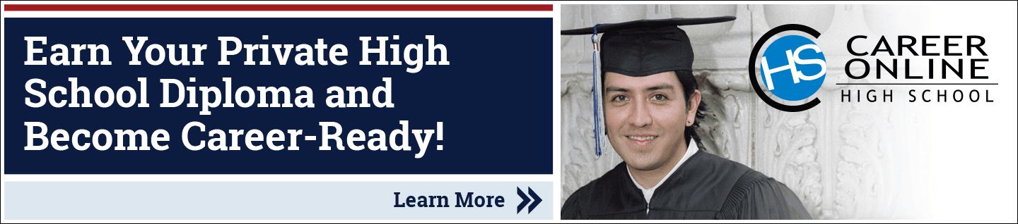 Earn your private high school diploma and become career ready