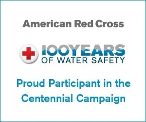 American Red Cross 100 years of water safety campaign