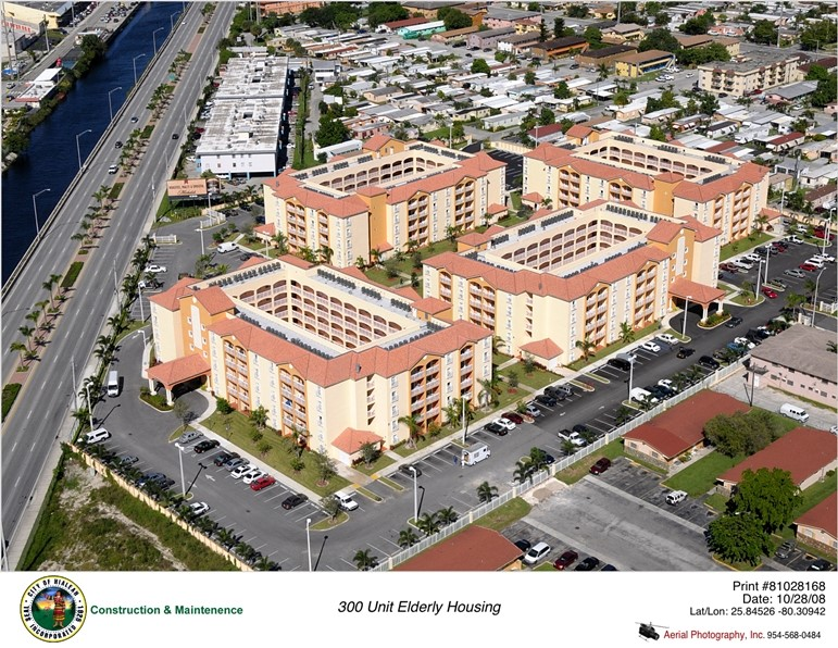 Aerial View of 300 Unit Elderly Housing